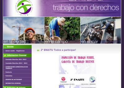 Sitio web para asociación