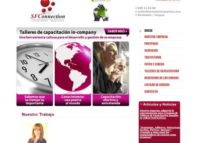 Sitio web para consultora