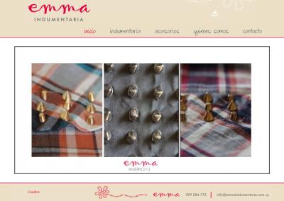 Sitio para indumentaria femenina