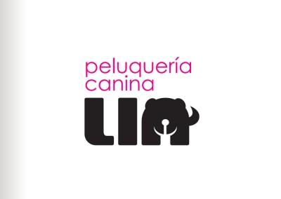 Logotipo Peluquería Canina