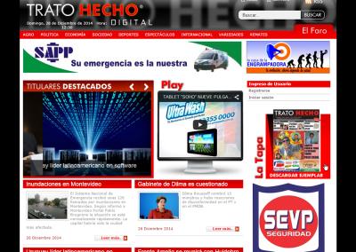 Sitio web para periódico digital